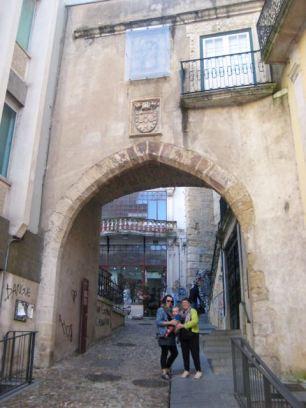 Arco de Almedina, Moorish Archway, Coimbra