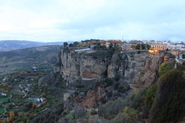 View towards Parador, Ronda