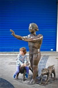 Sculpture Malaga Andalucia