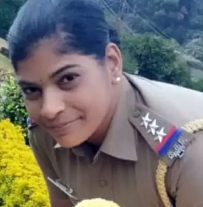 Female police inspector attempted suicide!