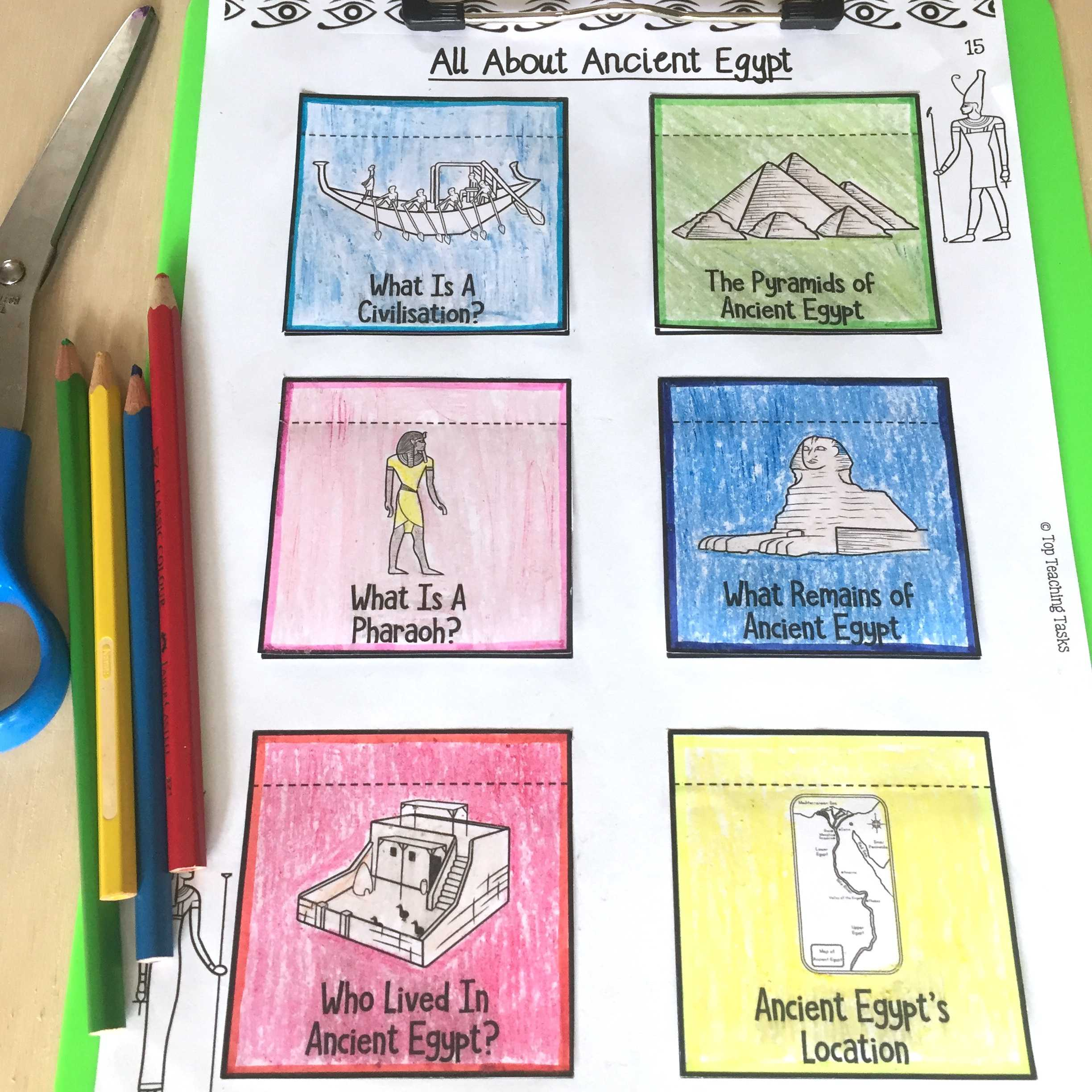 Introduction To Ancient Egypt Reading Comprehension