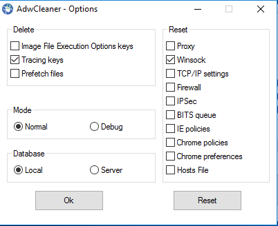 adwcleaner Removal Tool