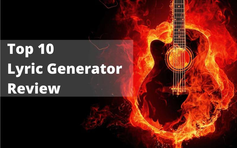top 10 lyric generator review 2021