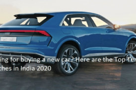 Top Ten car launches in India 2020