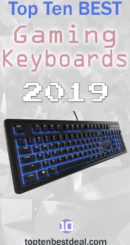 Top Ten Best Gaming keyboards 2019 Pin - 10 Best Gaming Keyboards 2019