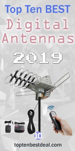 top ten best digital antennas 2019 pin - 10 Best Digital Antennas 2019