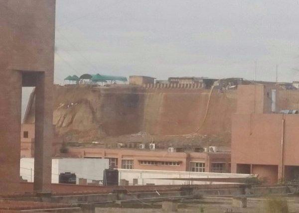 The wall of Balla Hissar