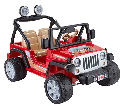 The Very Popular Power Wheels Jeep Wrangler! It Is Very Big And Roomy And  Even Has A Trunk For Storage. If Your Child Wants To Carry Around A Few ...