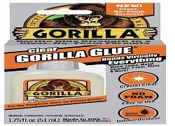 Gorilla 4500104 Clear Glue 1.75