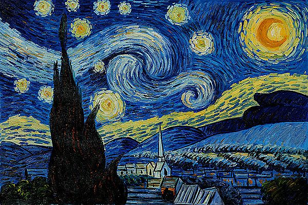 Image result for starry night original