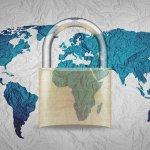 globe and lock