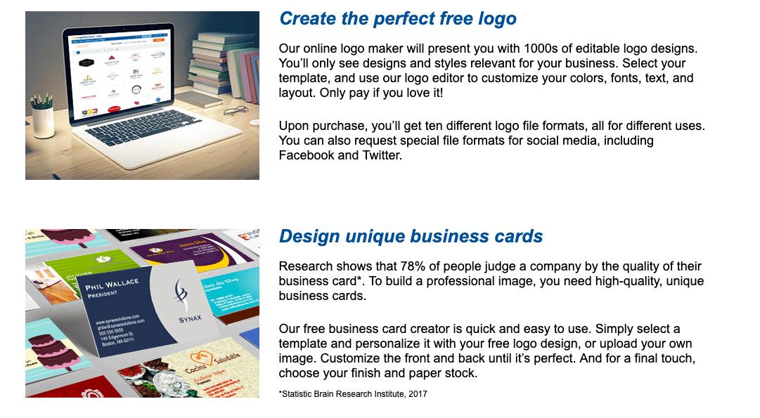 LogoMix website