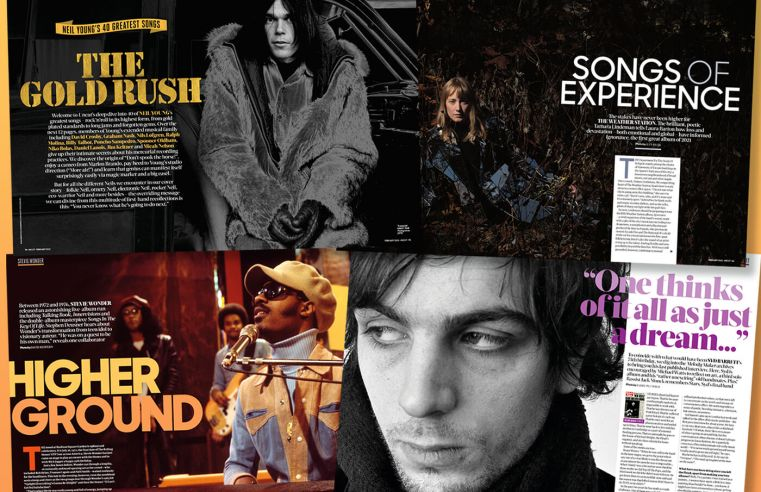 Neil Young, 2021 Preview, Syd Barrett in the new Uncut