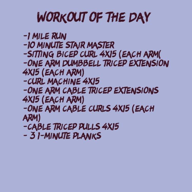 High Rep Arm Workout (WOD 9/25)