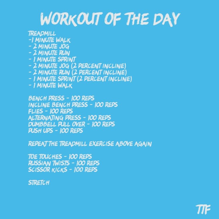 High Rep Chest HIIT Workout