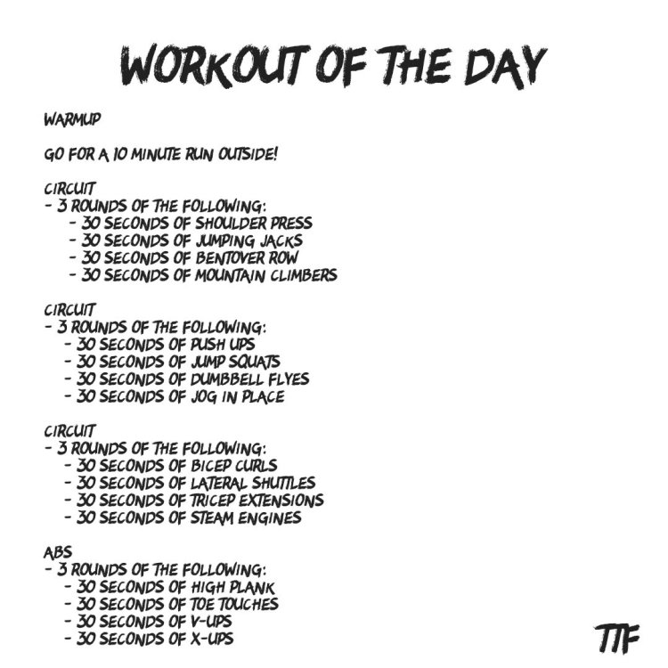 45 Minute HIIT Full Body Workout from Home