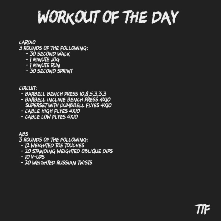 Chest Workout to Make you Stronger