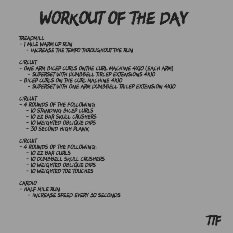 HIIT Arms and Abs Workout