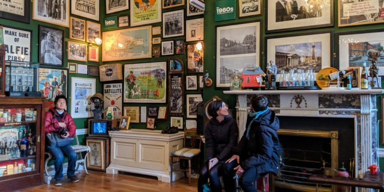 Inside the Little Museum of Dublin