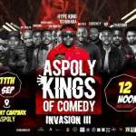 TRENDING : MC OSHOBABA AND MC RAYMOND PULLED OUT A RECORD BREAKING COMEDY SHOW IN ASPOLY