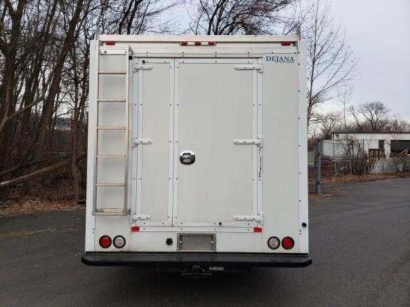 2014 Isuzu NPR HD Crew Cab with 14 Dejana Contractors Body