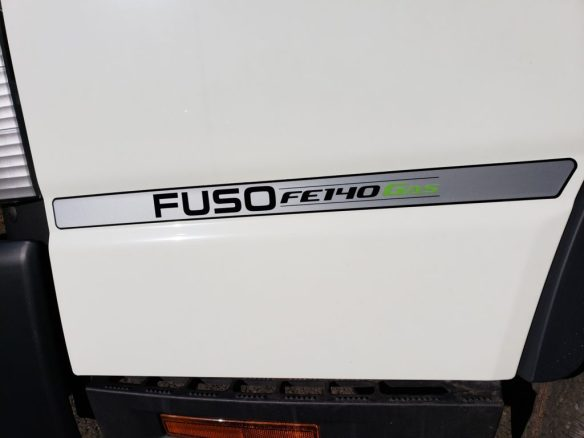 2019 Mitsubishi-Fuso FE140 GAS with 16 Morgan Body