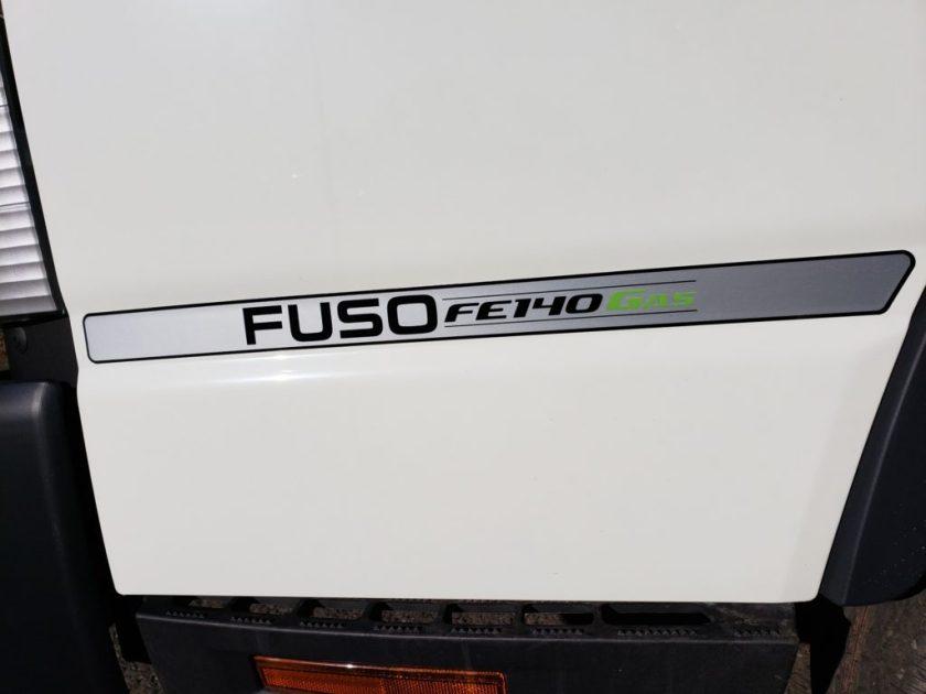 2019 Mitsubishi-Fuso FE140 GAS with 16 Morgan Body