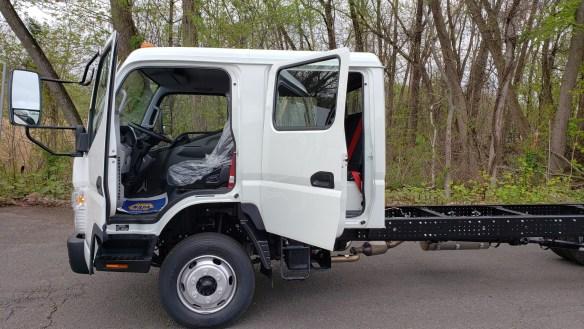 2019 Mitsubishi-Fuso FE160G Crew Cab c&c
