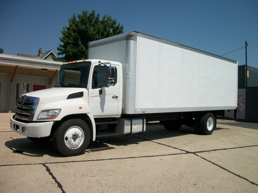 2013 Hino 268 with 26 Morgan Body