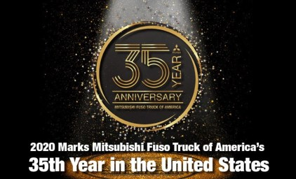 2020 Marks Mitsubishi Fuso Truck of America's 35th Year in the United States