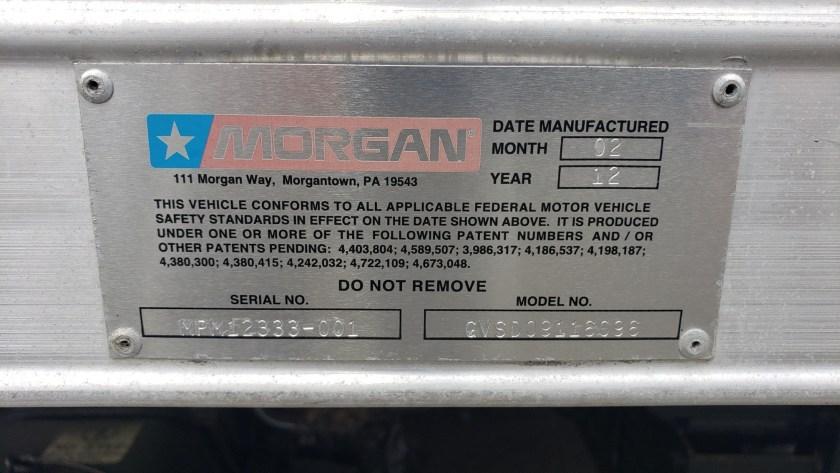 2012 Isuzu NPR-HD with a 16 Morgan Alum Box