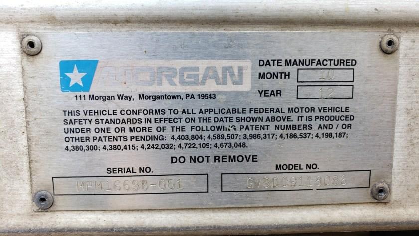 2012 Morgan 18 Alum dry van