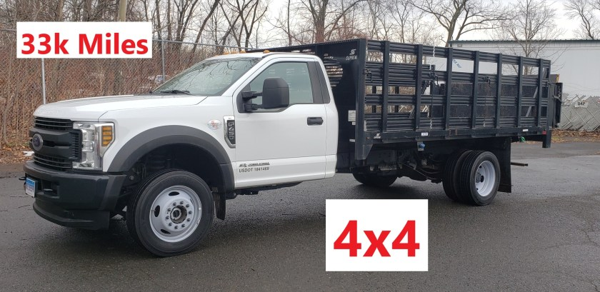 2019 Ford F-450 SD 14 Rack Body