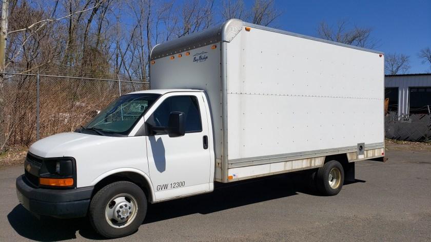 2013 Chevy cube van