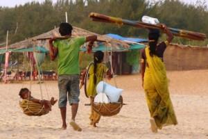 Семья индийцев в Гоа
