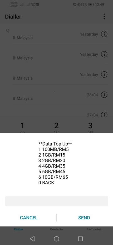 harga data tambahan redone 2018