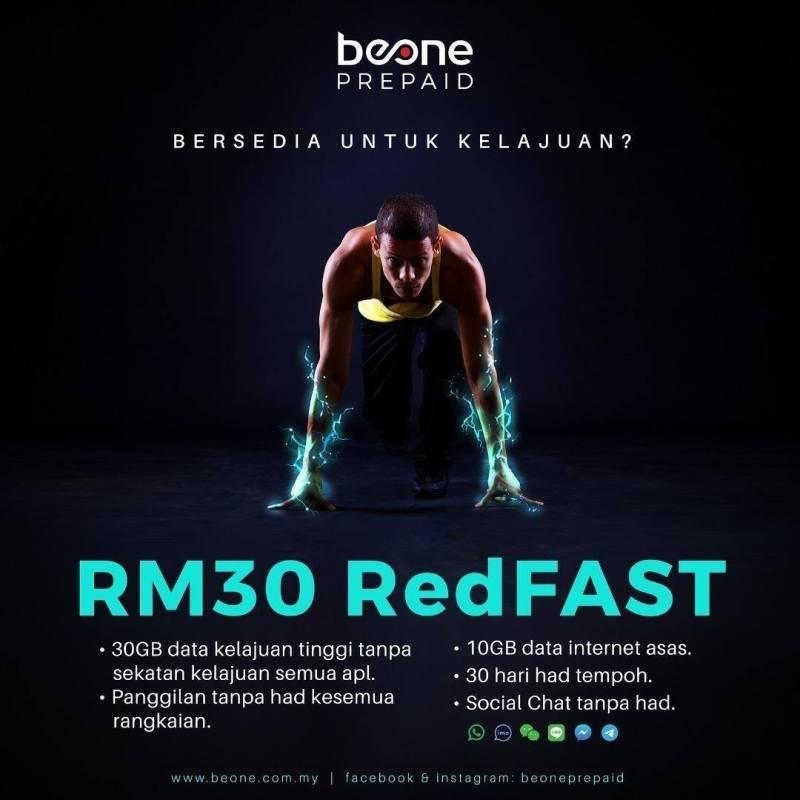 BeONE Memperkenalkan Pelan RedFAST