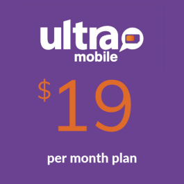 FreeUP Mobile $20 1GB LTE Data Unlimited Global Talk/Text