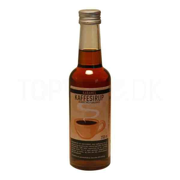Topvine kaffesirup med karamel