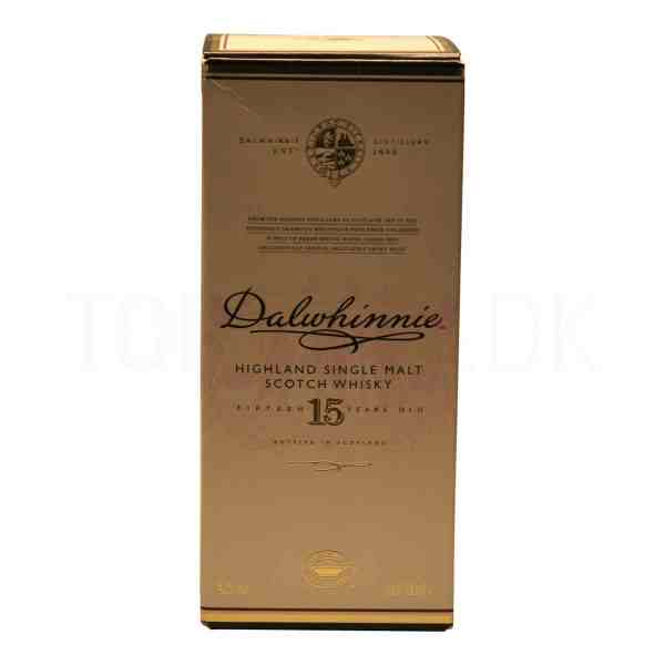 Topvine Dalwhinnie 15 aars Highland Single Malt Whisky