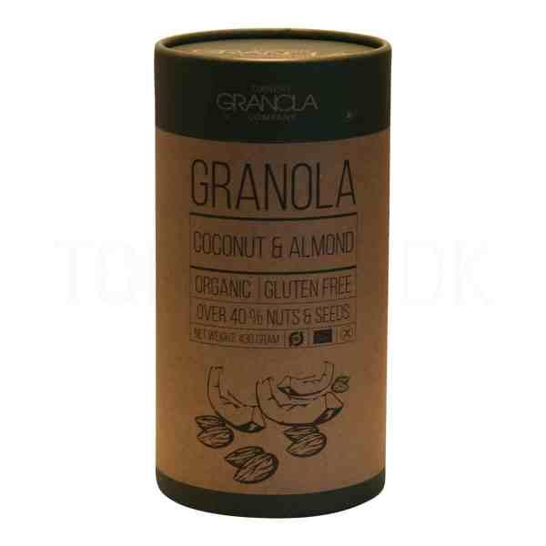 Topvine - Danish Granola med kokos og mandler