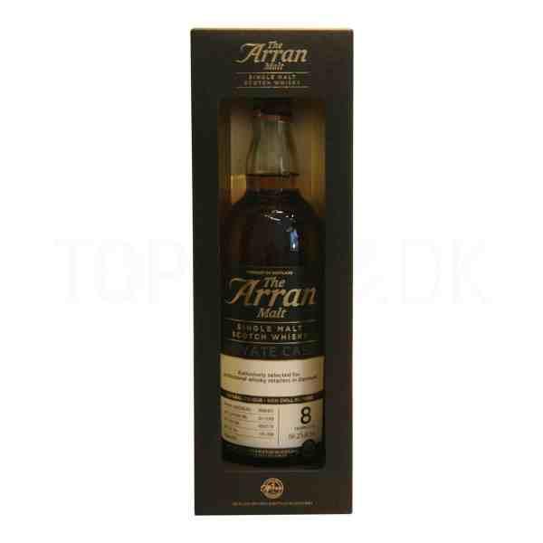 Topvine The Arran Malt Whisky single malt private cask 8 aar