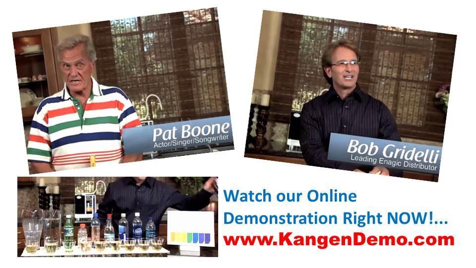 SD501 Kangen Water Demonstration