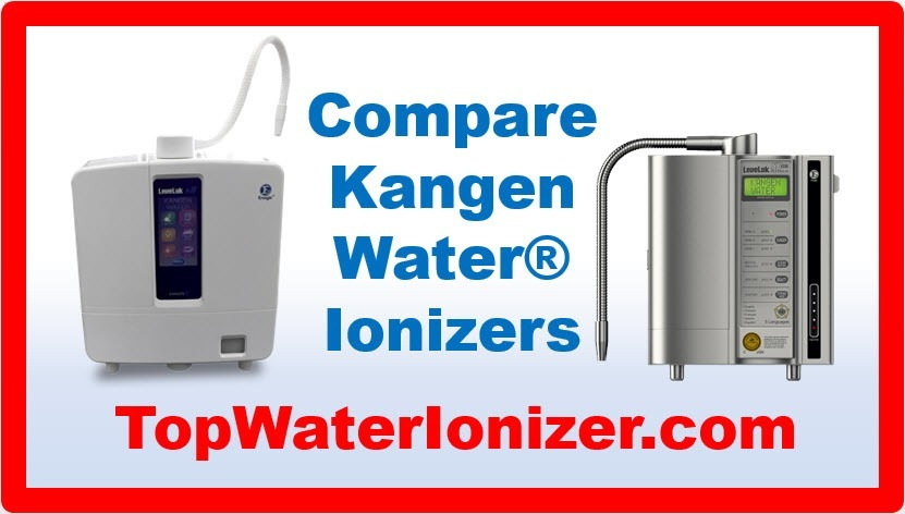 Compare the Top Water Ionizers