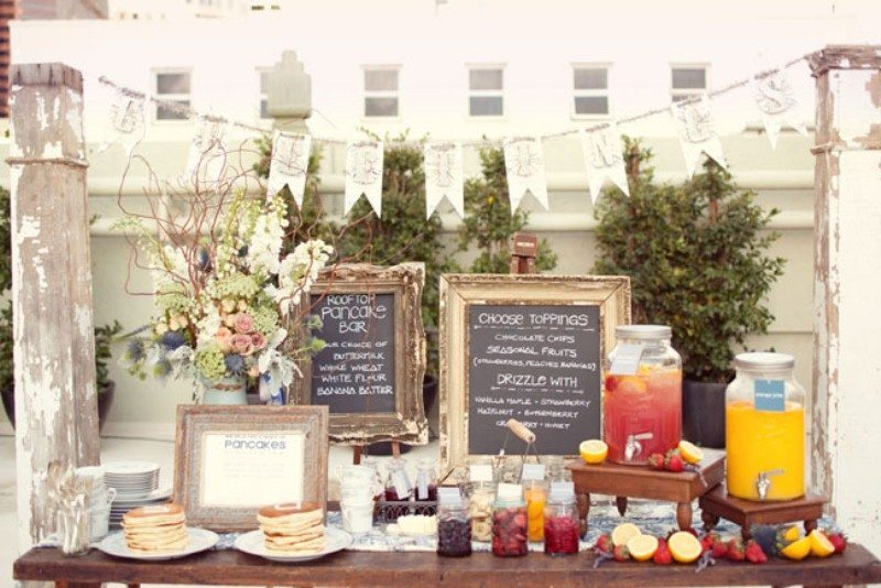 Team Wedding Blog 5 Fun Food Bars To Liven Up Your Reception