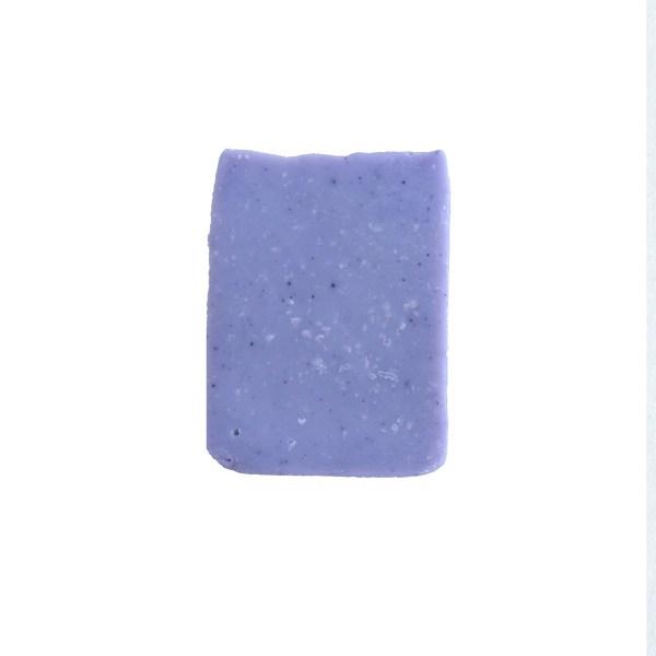 sabonete miniatura de alfazema em fundo branco