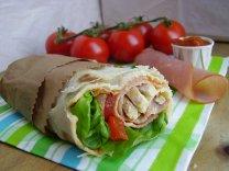 Wrap poulet BLT