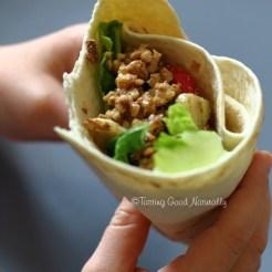 Vegan noix et crudités