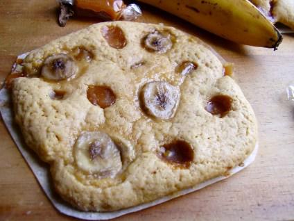 cookie banane-caramel