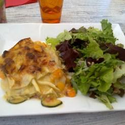 Lasagnes végétarienne (carotte et courgette)